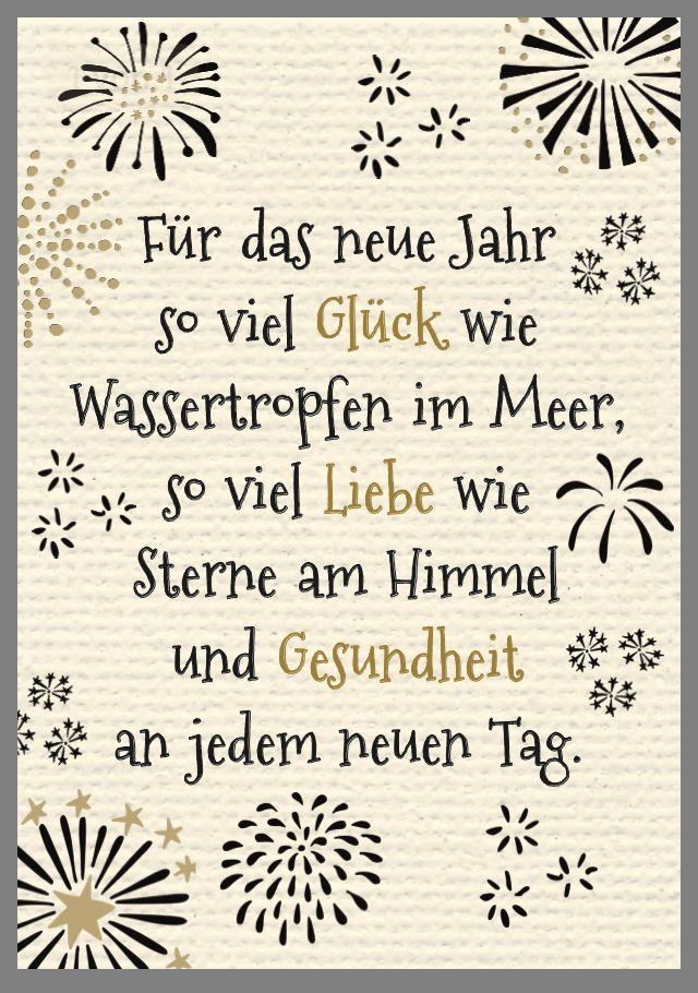 Pin Von Edith Griesmayr Auf Weihnachten Neujahrsgrusse Spruche Neues Jahr Neujahrswunsche