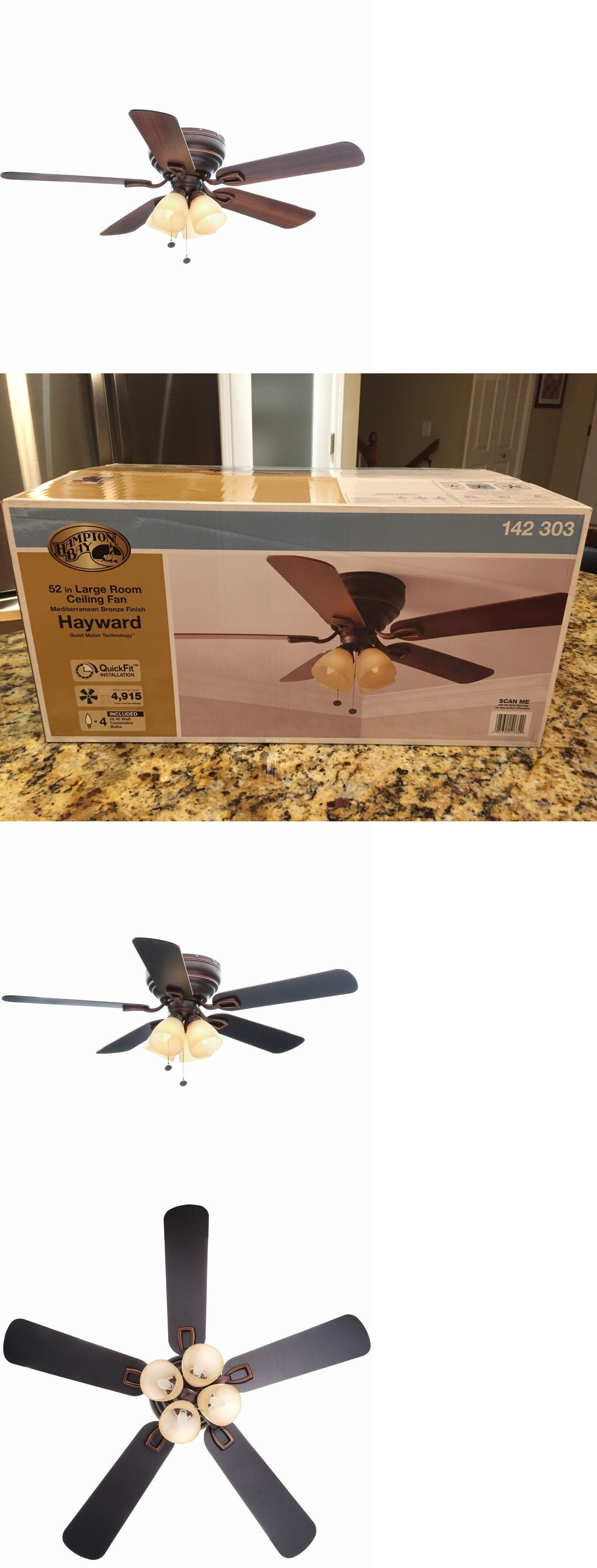 Ceiling fans 176937 new hampton bay hayward 52 mediterranean ceiling fans 176937 new hampton bay hayward 52 mediterranean bronze ceiling fan w light kit mozeypictures Choice Image