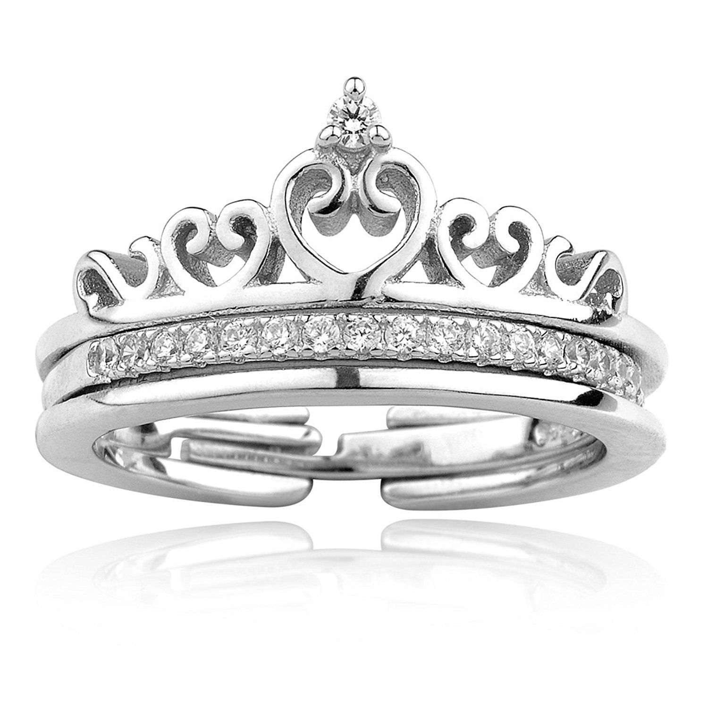 Merdia S925 Sterling Silver Ring Size Adjuster Princess