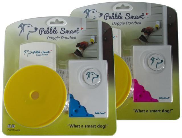 Pebble Smart Doggie Doorbell Wireless Dog Doorbell And Pet Chime