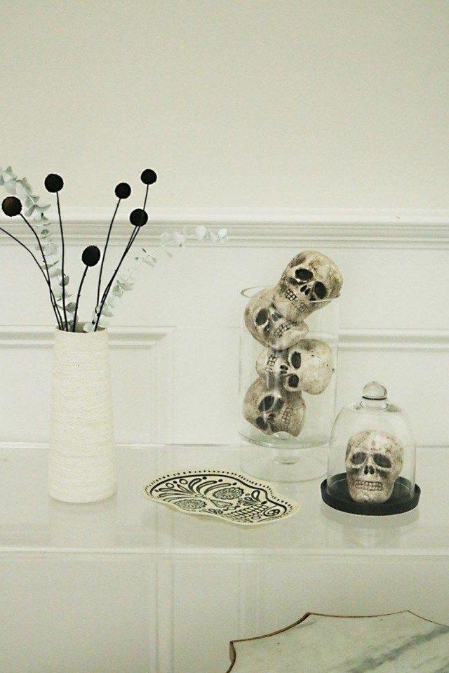 34 Elegant Halloween Decorations That Are So Chic It's Scary #eleganthalloweendecor