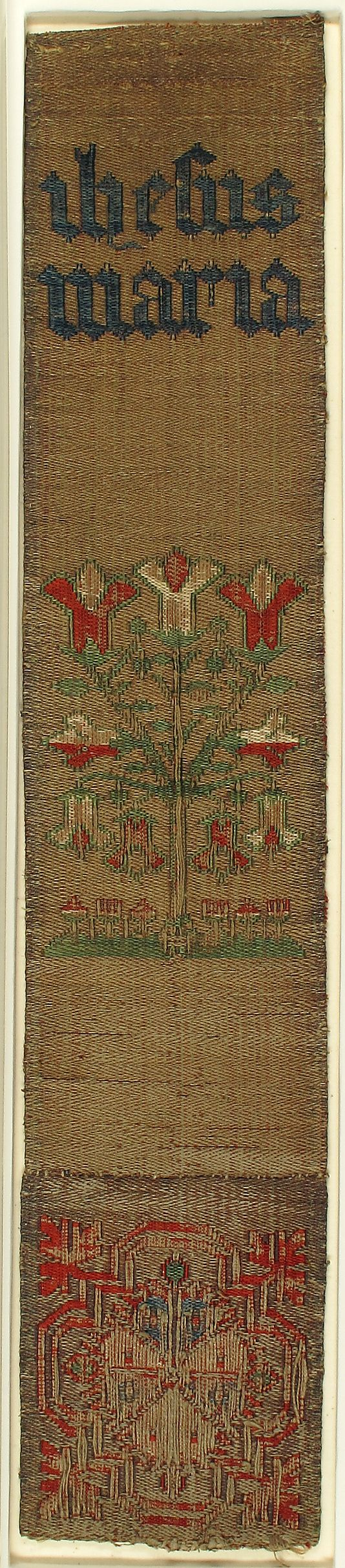 Textile Date: 15th century Geography: Made in Cologne, Germany Culture: German Medium: Silk, linen and metal thread Accession Number: 09.50.922