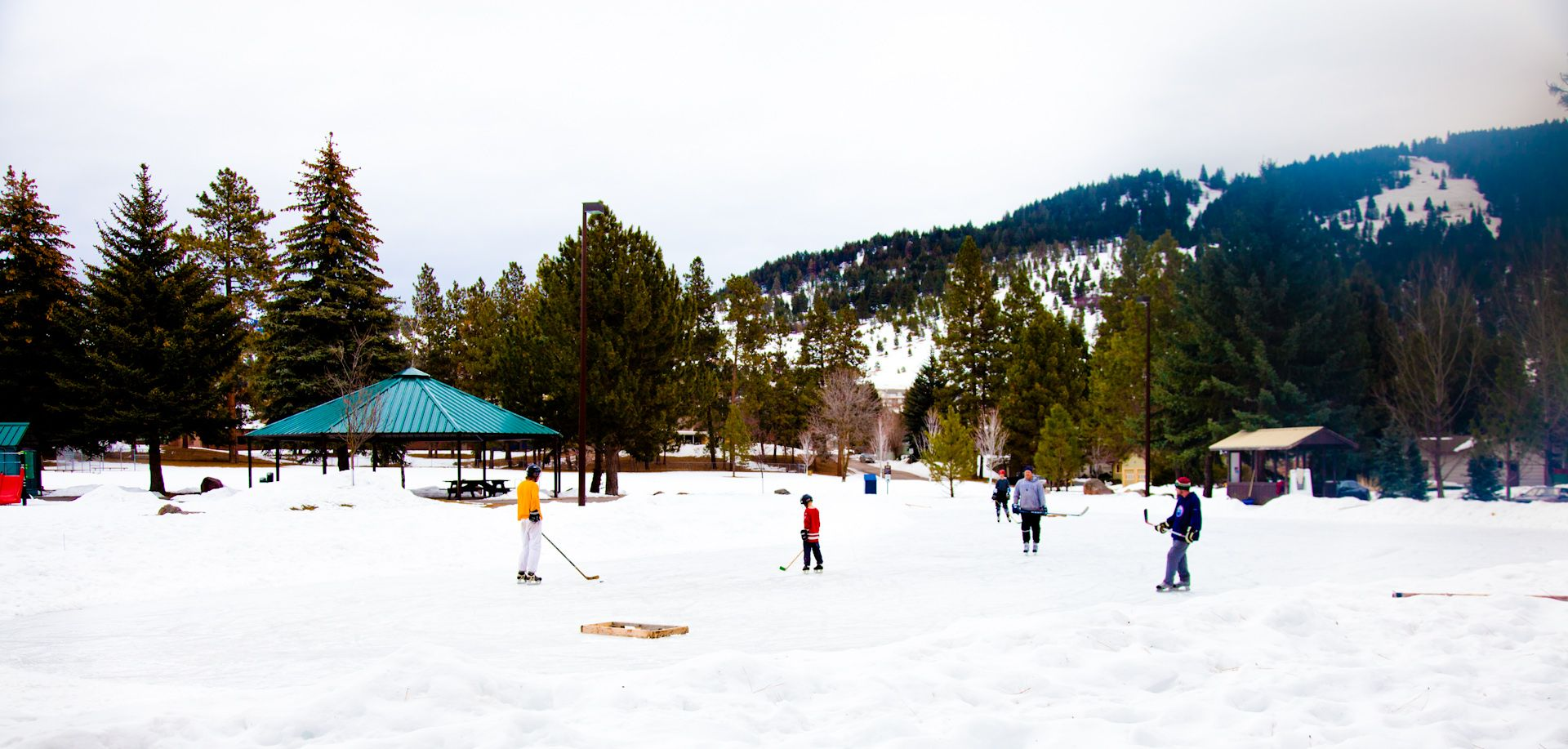 Montana fun - Hockey