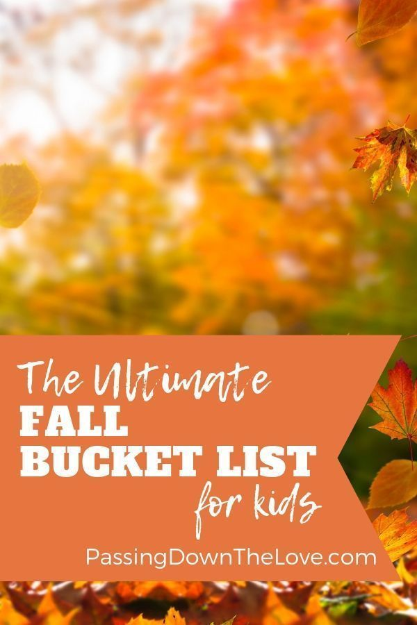 The Ultimate Fall Bucket List #fallbucketlist Creating a Fall Bucket List will help you to get it all in this season.  Here are some ideas to add to your own Fall Bucket List for Kids. #fallbucketlist The Ultimate Fall Bucket List #fallbucketlist Creating a Fall Bucket List will help you to get it all in this season.  Here are some ideas to add to your own Fall Bucket List for Kids. #fallbucketlist