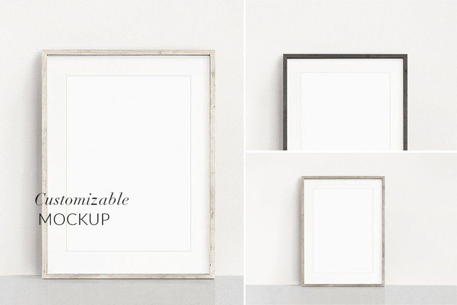 A4 Wooden Frame Mockup A3 A4 A5 Frame Mockups Free Frames Free Psd Mockups Templates