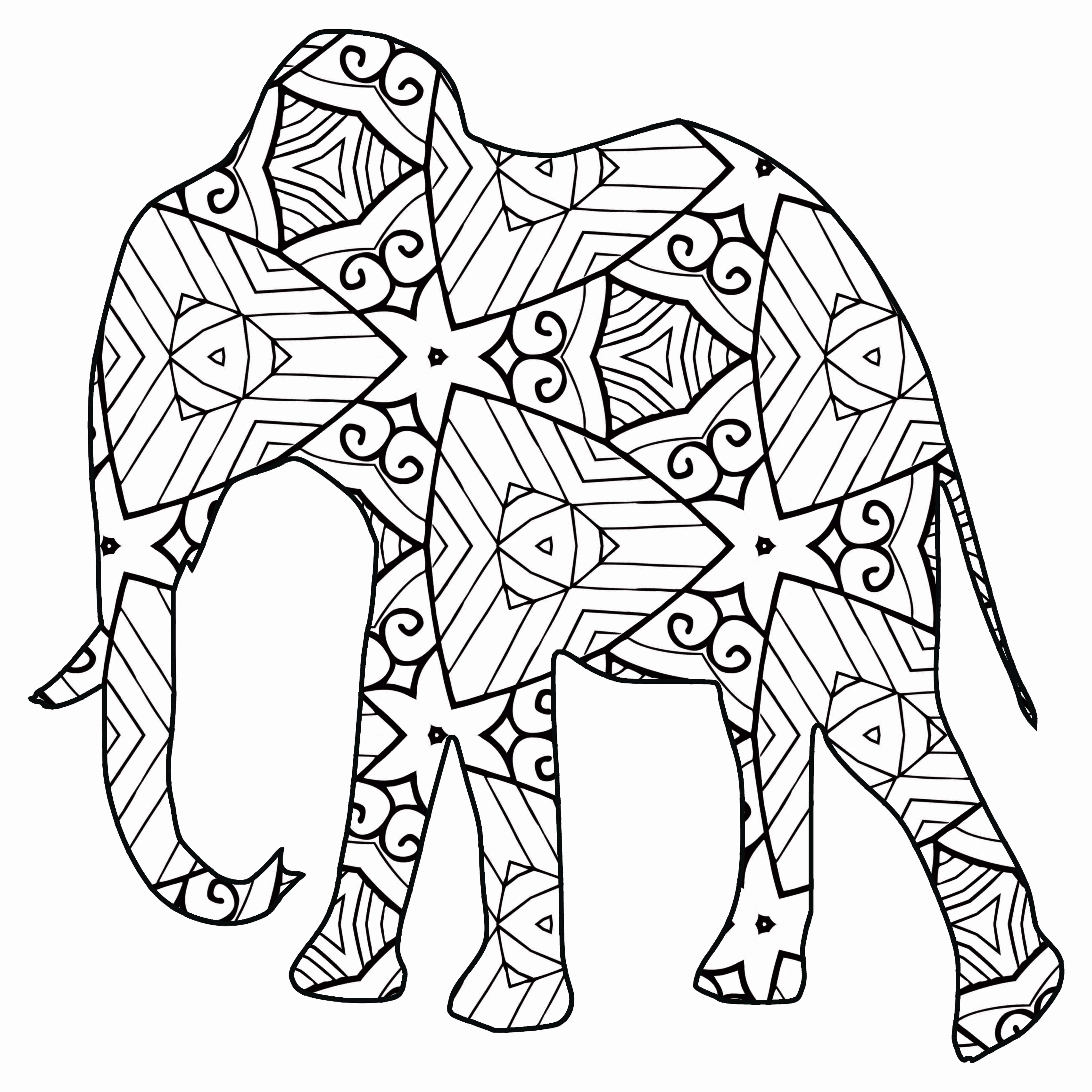 Animal Coloring Pages Elegant 30 Free Printable Geometric Animal Coloring Pages Farm Animal Coloring Pages Animal Coloring Pages Deer Coloring Pages