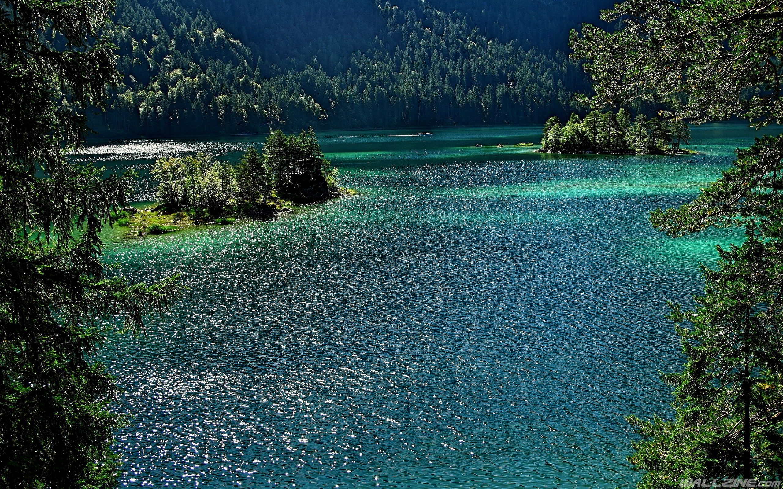 Lake Bavaria Grainau Hd Desktop Wallpaper Wallzine Com Eibsee Deutschland Dahoam Is Dahoam