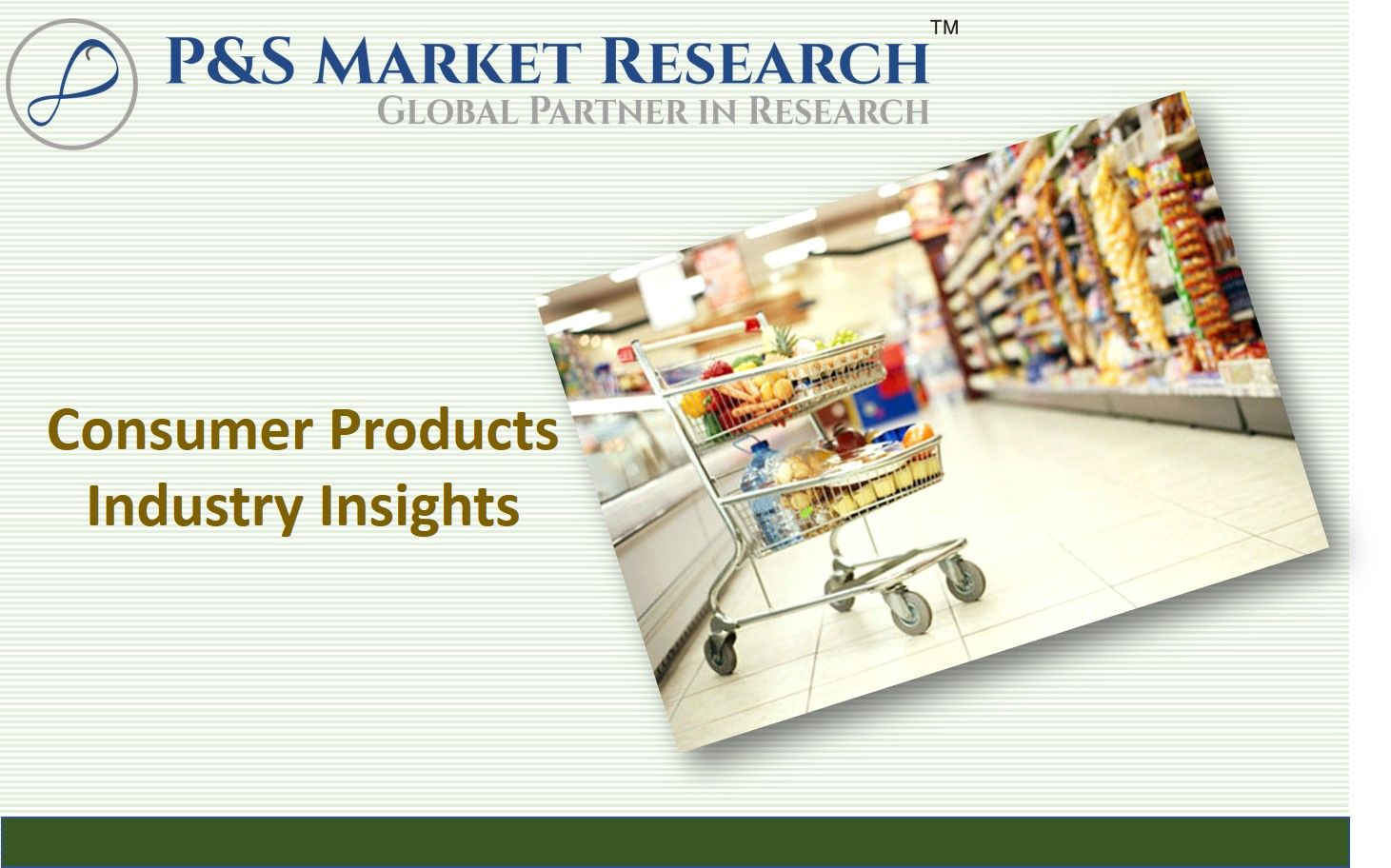 Consumer products is a diverse industry, sub