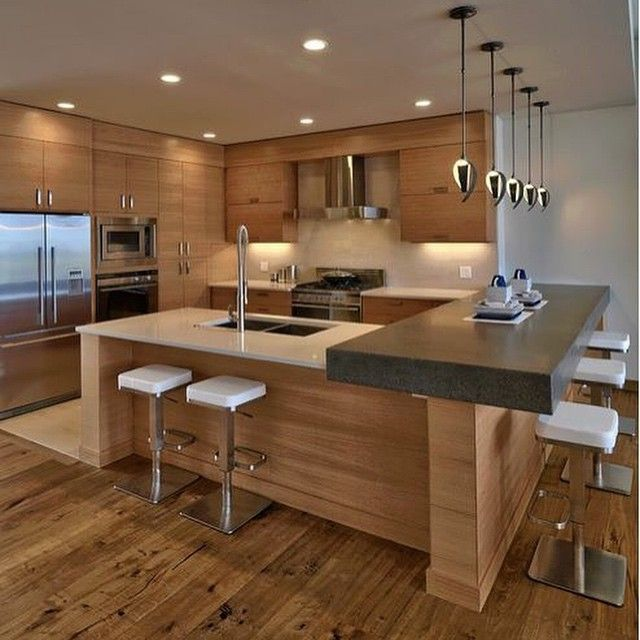 Cool Modern Kitchen Design | Luxury Kitchen | Pinterest | Modern