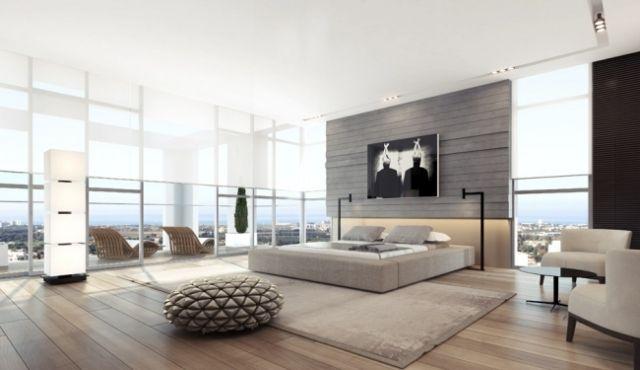 100 idées pour le design de la chambre à coucher moderne | Le ...