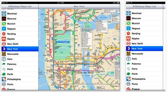 Allsubway hd takes the confusion out of confusing undergrounds the the travel app features subway maps for about 128 different cities around the world each map is available offline which is perfect for gumiabroncs Choice Image