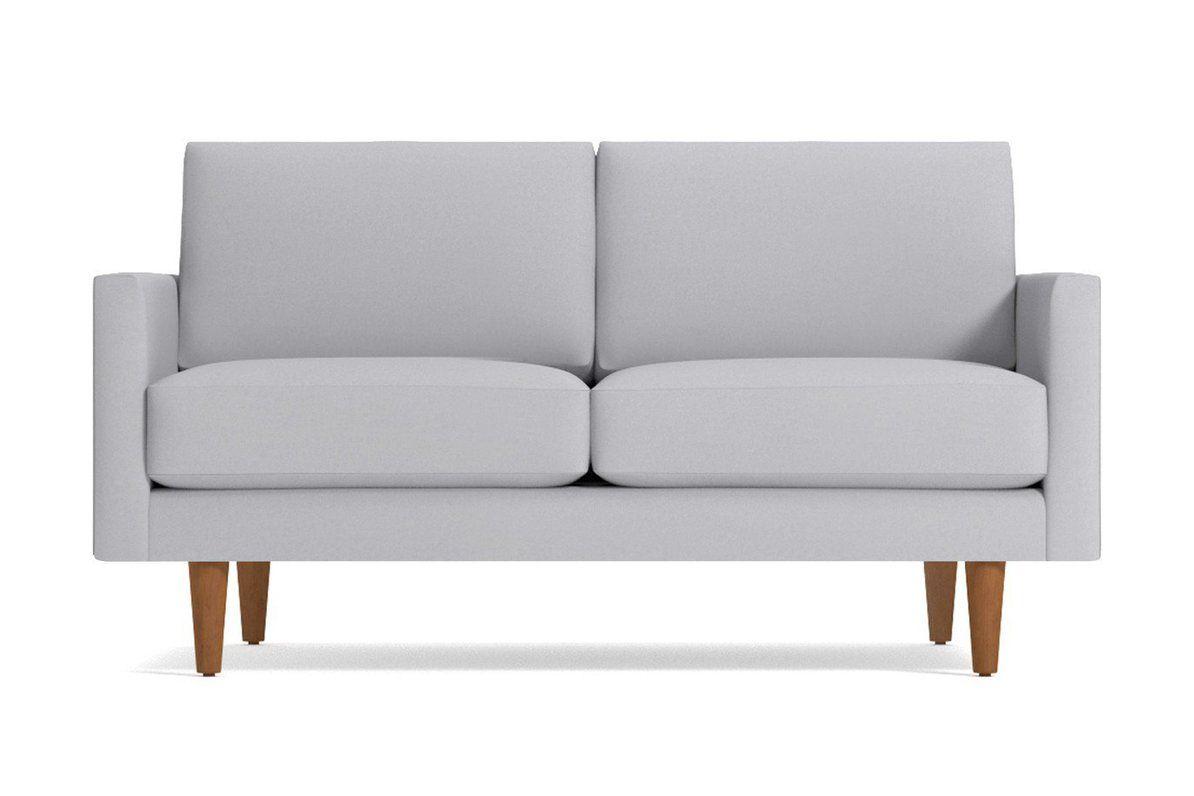 Scott Apartment Size Sofa Leg Finish Pecan Size Apartment