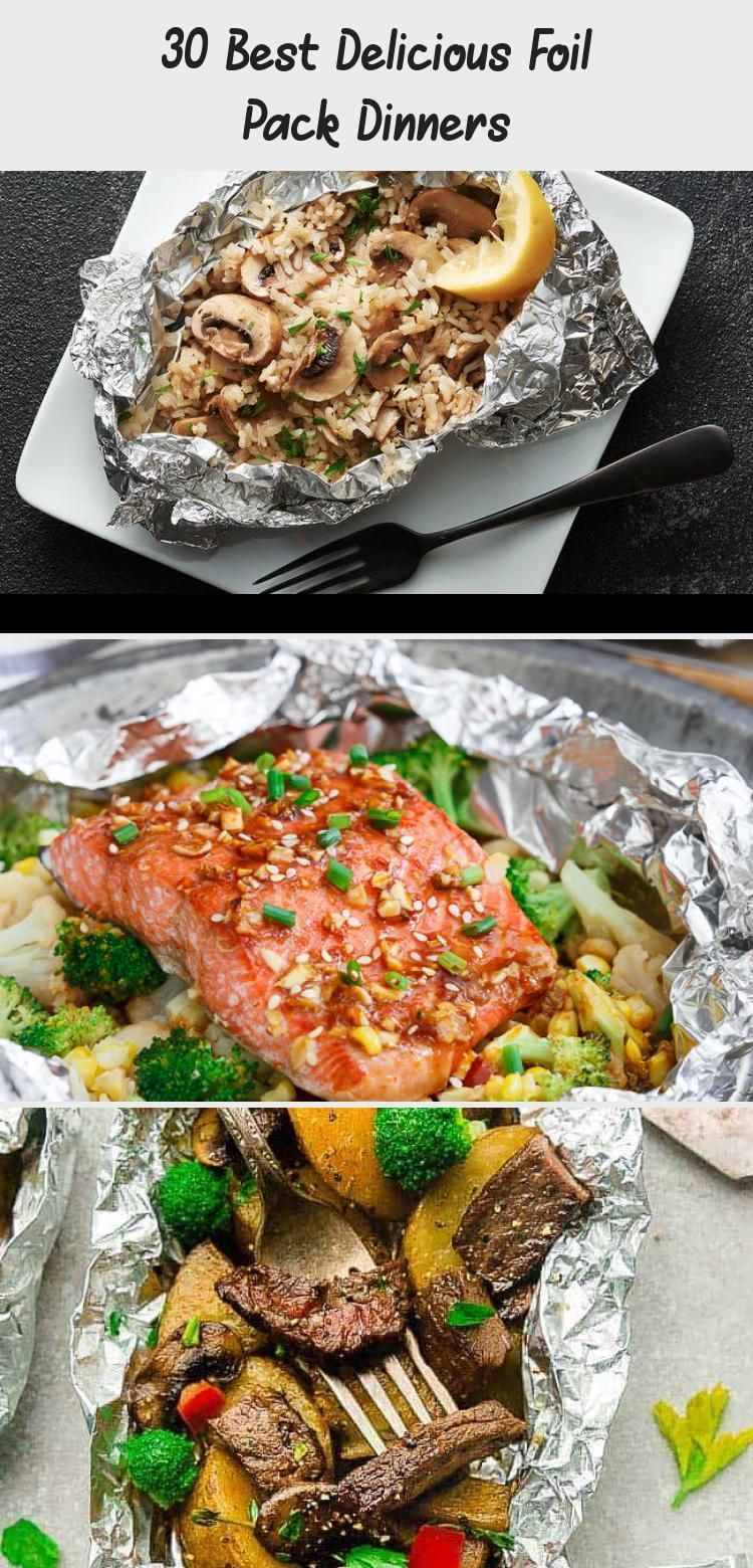 Photo of 30 Best Delicious Foil Pack Dinners – Recipes