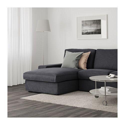 Magnificent Kivik Sofa Hillared With Chaise Hillared Dark Blue Ikea Inzonedesignstudio Interior Chair Design Inzonedesignstudiocom