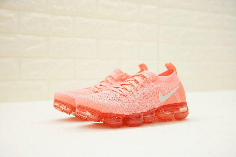 Womens New Nike Air VaporMax 2 Crimson Pulse White 942843-800  5957960ac