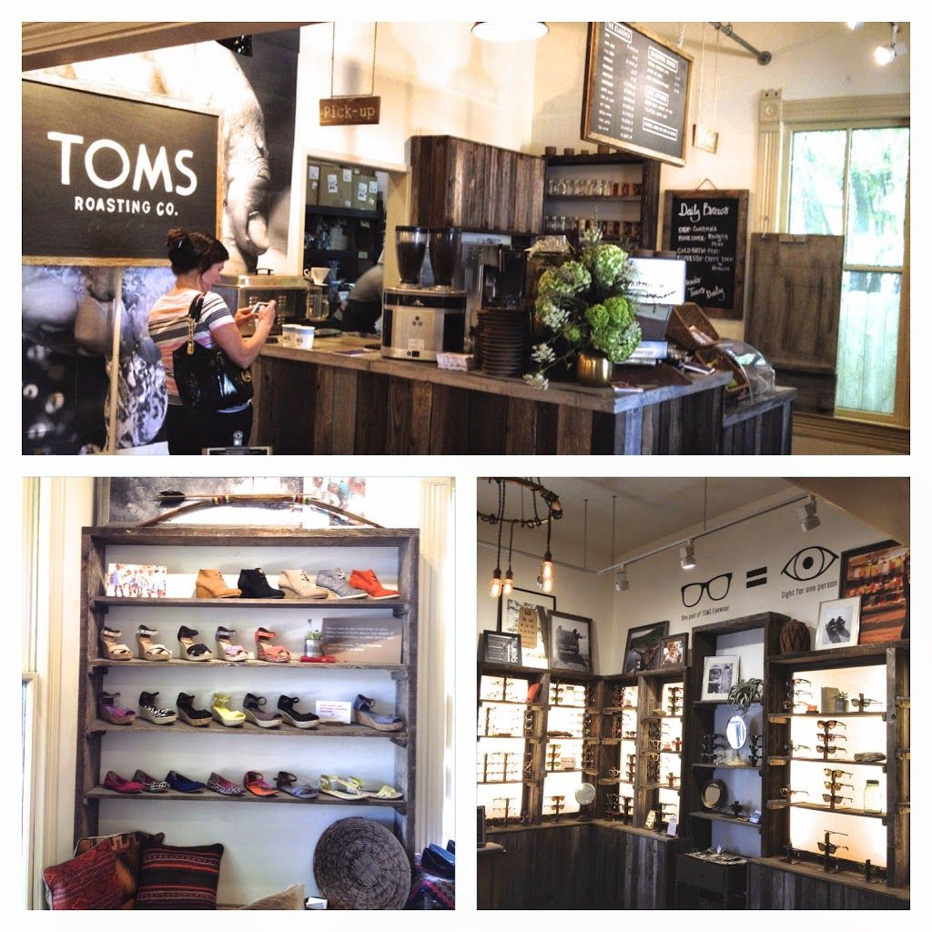 TOMS Coffee and Community Coffee shops austin