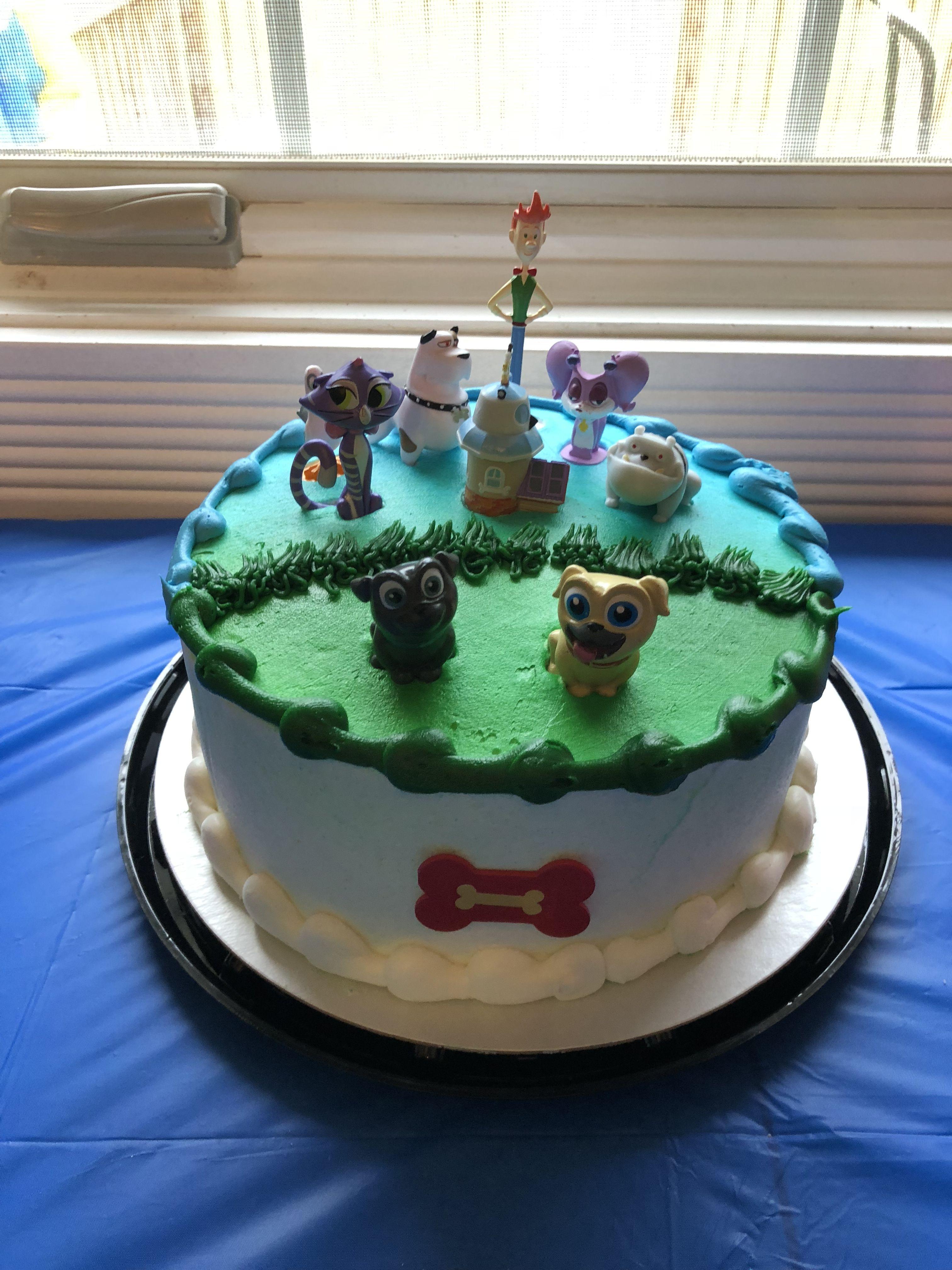 Puppy Dog Pals Birthday Cake Dog Themed Birthday Party Puppy