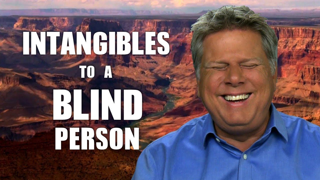A Blind Man Explains His Idea of Outer Space, Fog, the Grand Canyon, and Other 'Intangibles'