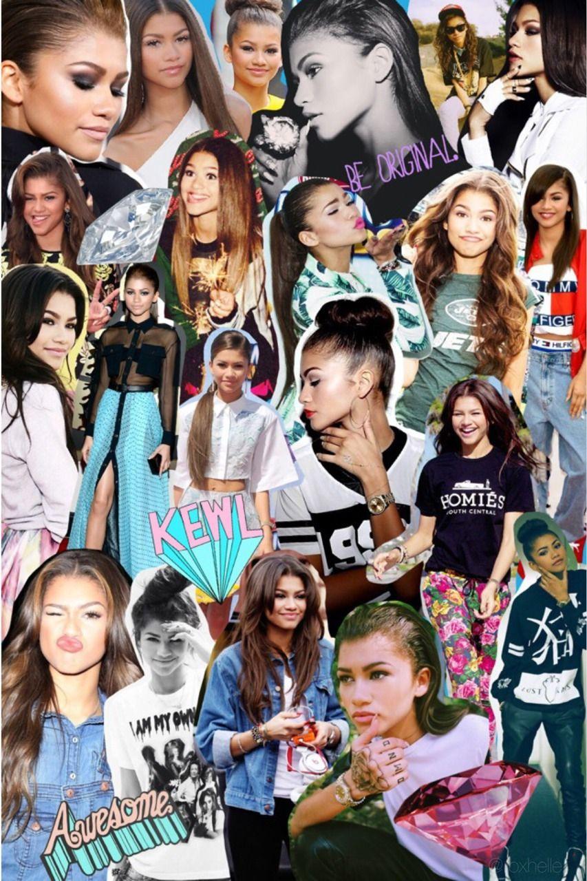 Zendaya Collage Tumblr Zendaya Zendaya Coleman Celebrity Wallpapers