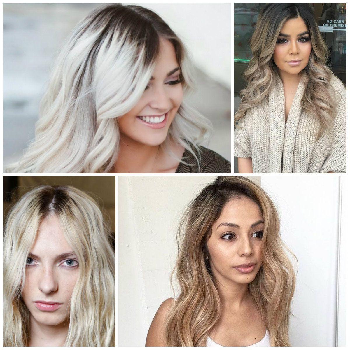 Blonde Hair Color Dark Roots - Best Dark Blonde Hair Color Home ...