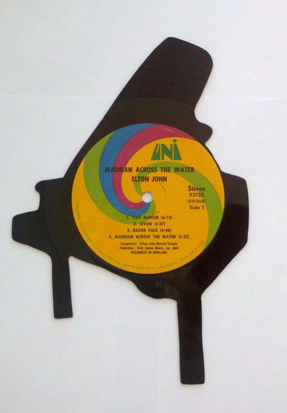 Vinyl Record Piano Wall Art | Vinyl love | Pinterest | Craft and Album