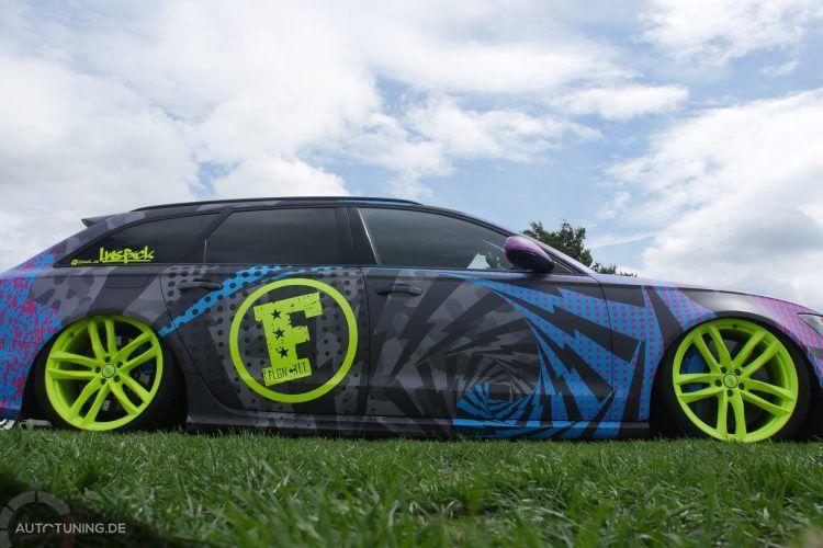 Audi Rs6 Im Ken Block J P Style Autotuning De Audi