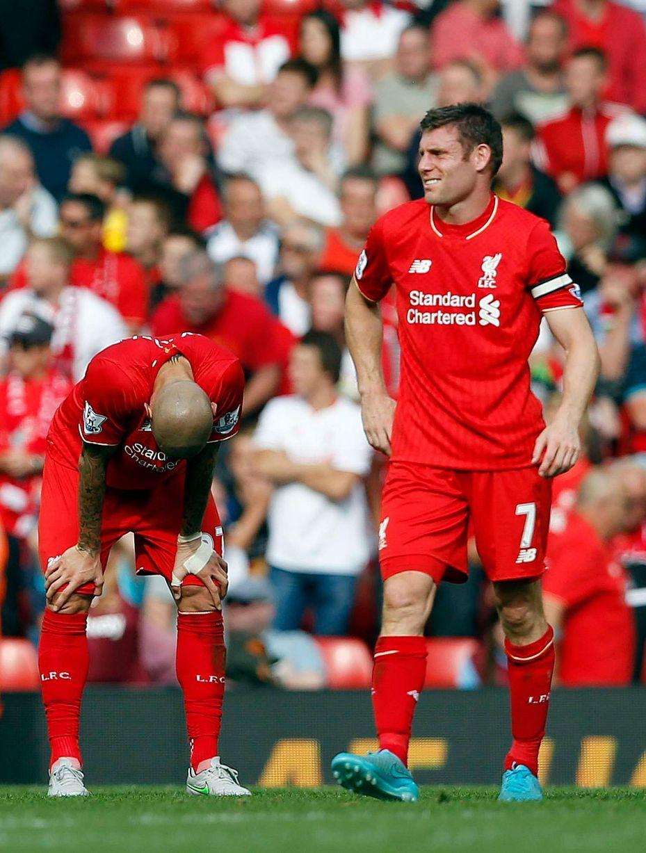 Liverpool FC 0-3 West Ham na plný úväzok správa: katastrofálny Reds trpí historický horor domáce porážku - liverpool Echo
