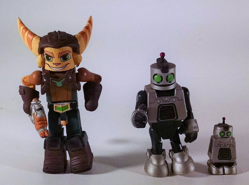 Ratchet And Clank Minimates Sony Playstation Toys R Us Exclusive