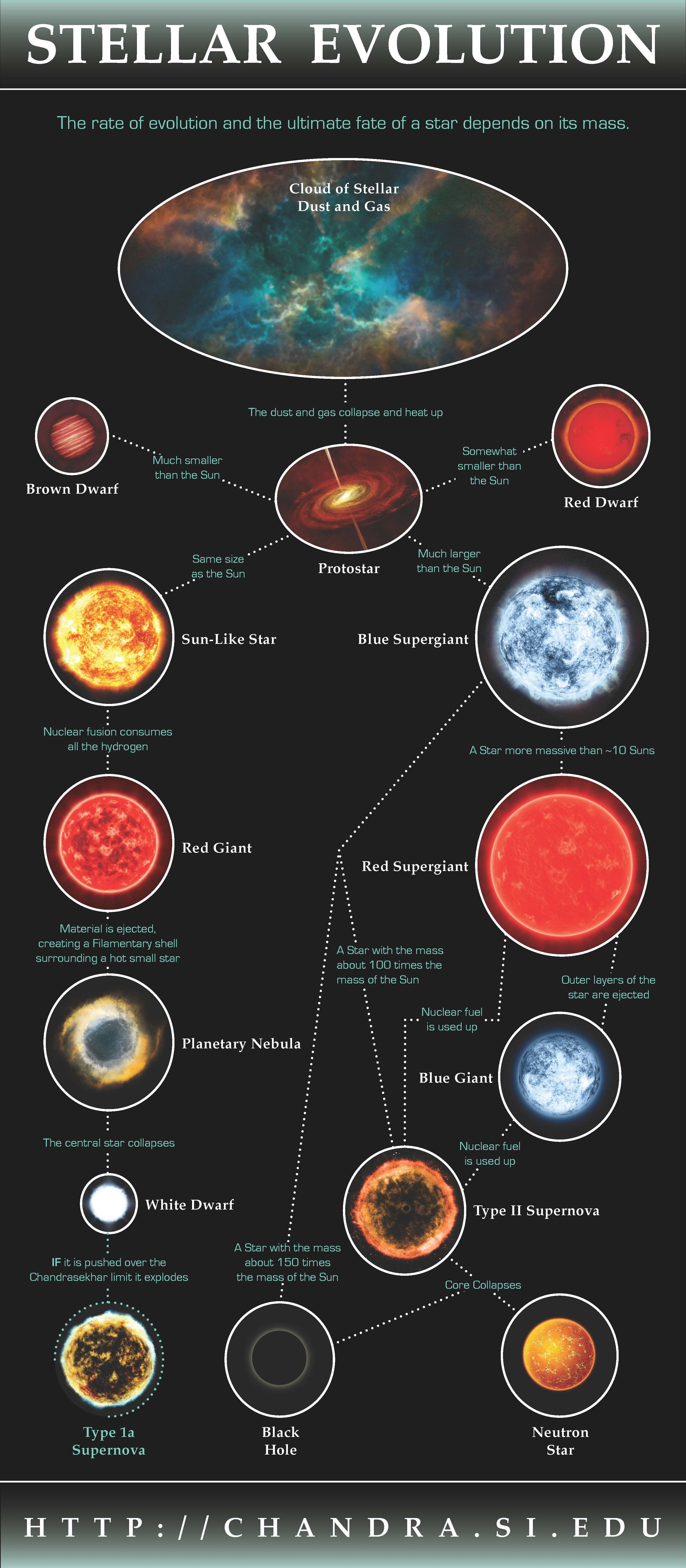 Stellar Evolution Space Science Astronomy science