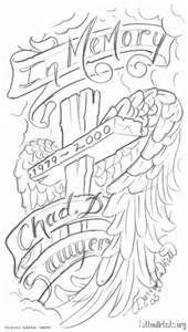 In Loving Memory Tattoo Drawings : loving, memory, tattoo, drawings, Loving, Memory, Angel, Drawings, Images, Drawing,, Drawings,, Flash, Tattoo