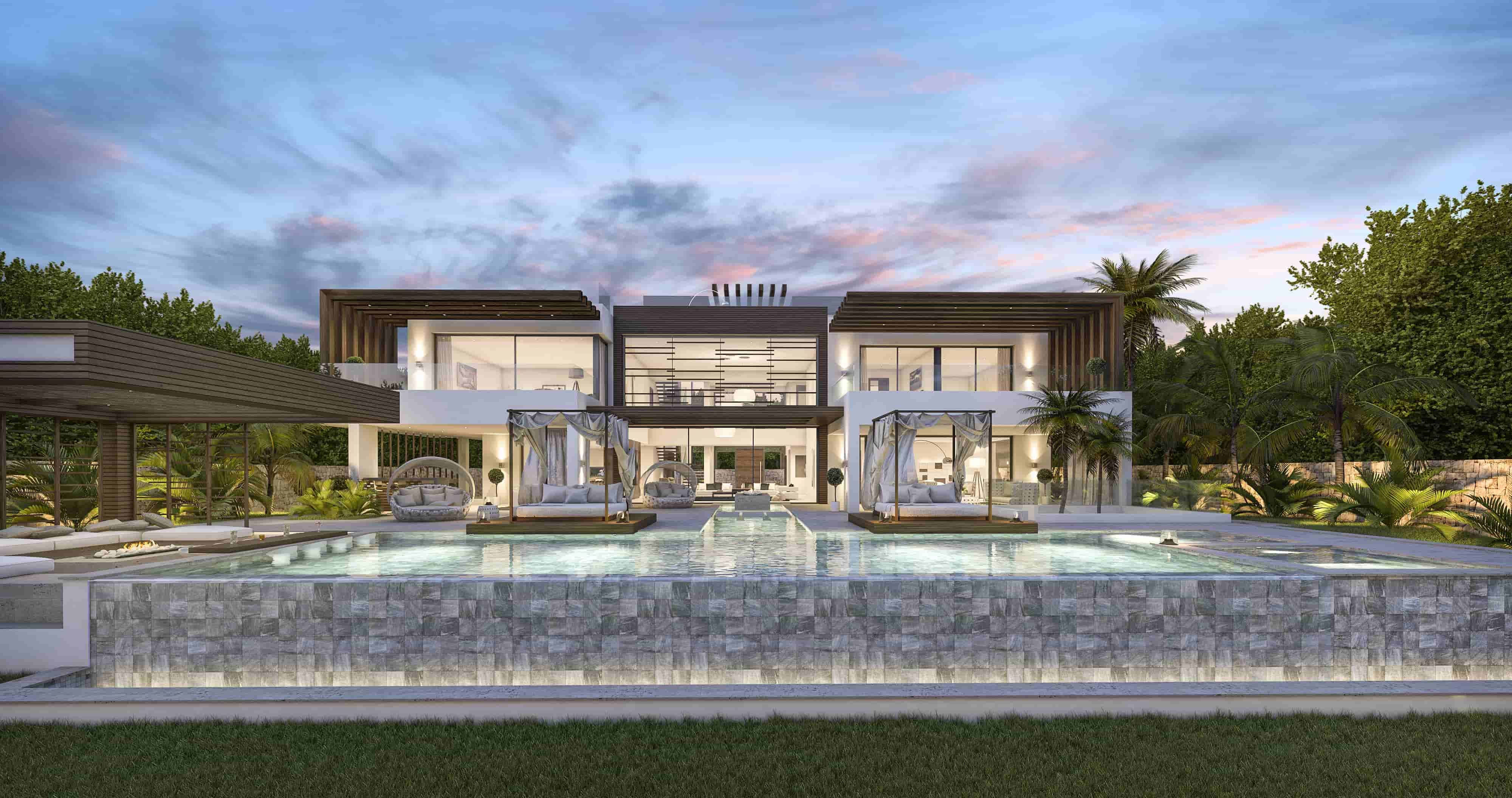 New Luxury Villa Project On The Golden Mile In Marbella