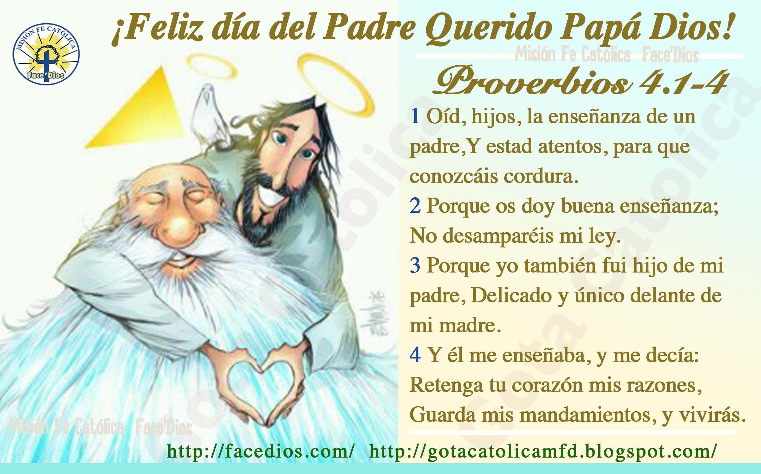 Feliz Día Del Padre Querido Papá Dios Pura Ternura Feliz Día