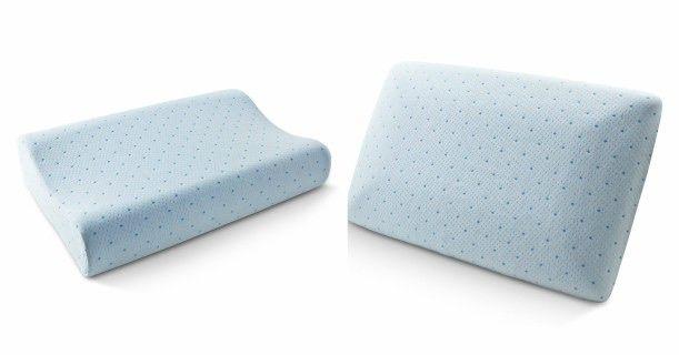 Arctic Sleep Cool-Blue Memory Foam Pillow ONLY $16.79 ...