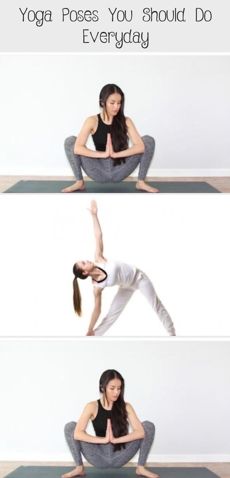 8 Yoga Poses You Should Do Everyday #health #fitness #workout #exercise #yoga #beginneryogaKids #beg...