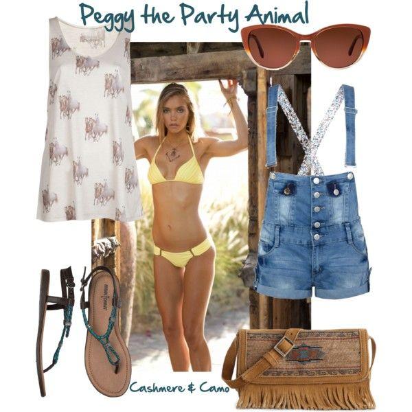 Boys & Arrows Swimwear- Peggy the Party Animal