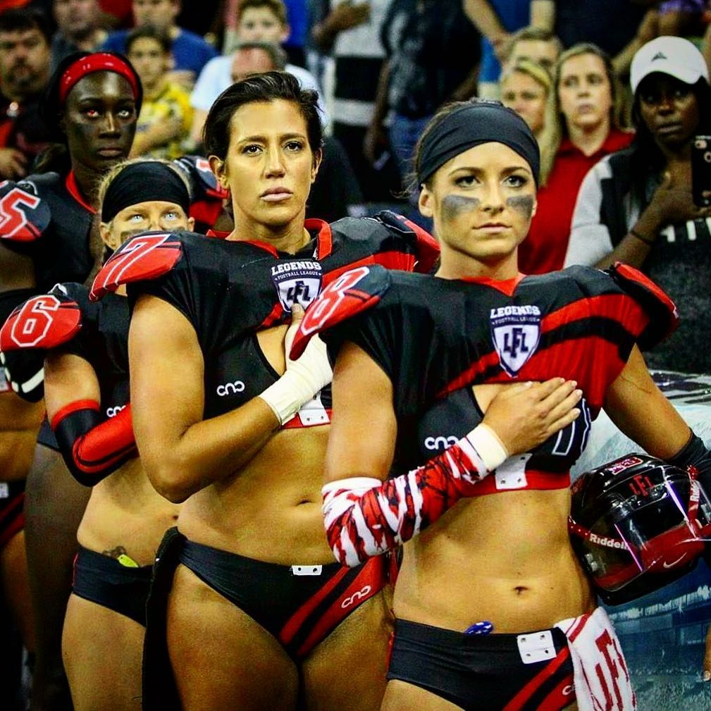 Women football lingerie league apologise, but