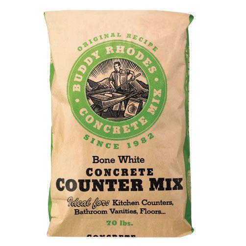 Buddy Rhodes Bone White Concrete Mix Concrete Countertop Mix