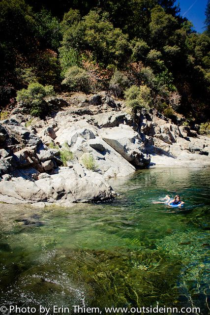 South Yuba River Swimming Holes Best Campgrounds Nevada City California Sierra Nevada Mountains