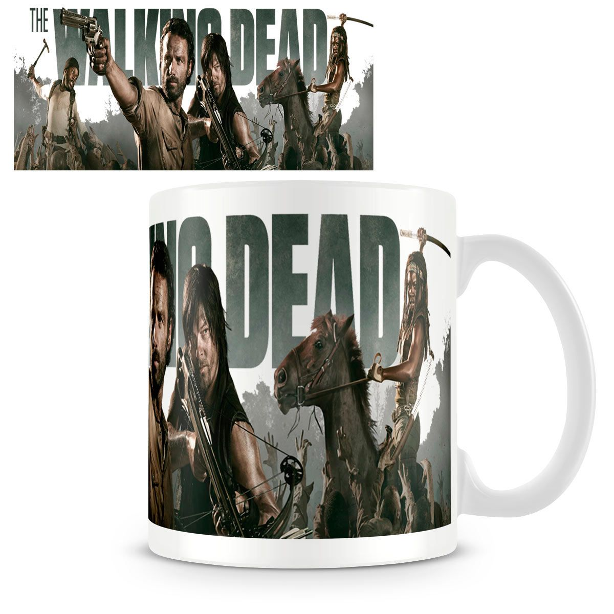 Taza The Walking Dead. Personajes, temporada 4