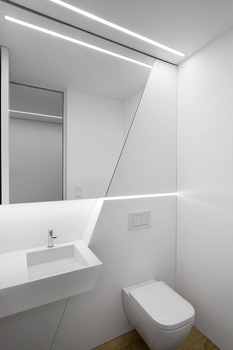 House Z By Closer Architects Toilet Design Contemporary Toilets Bathroom Design