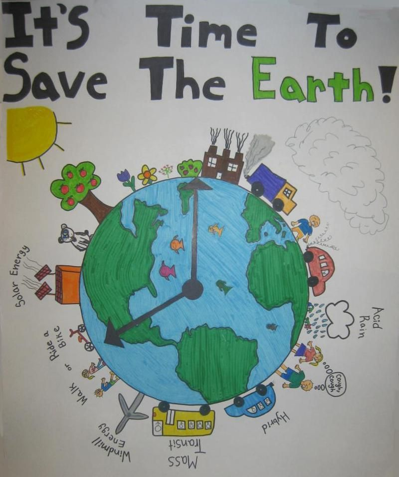Poster On Pollution Sec2elhw 2015 Cause Pinterest