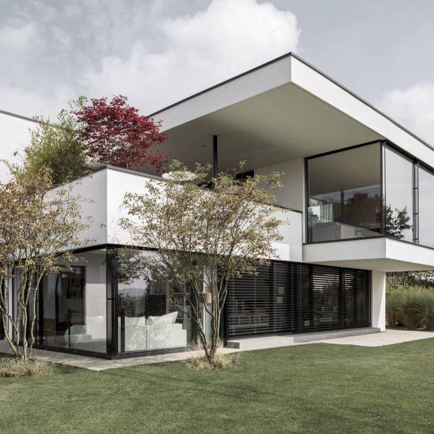 h user hausbau architektur und bilder haus pinterest fertigh user traumh user und. Black Bedroom Furniture Sets. Home Design Ideas