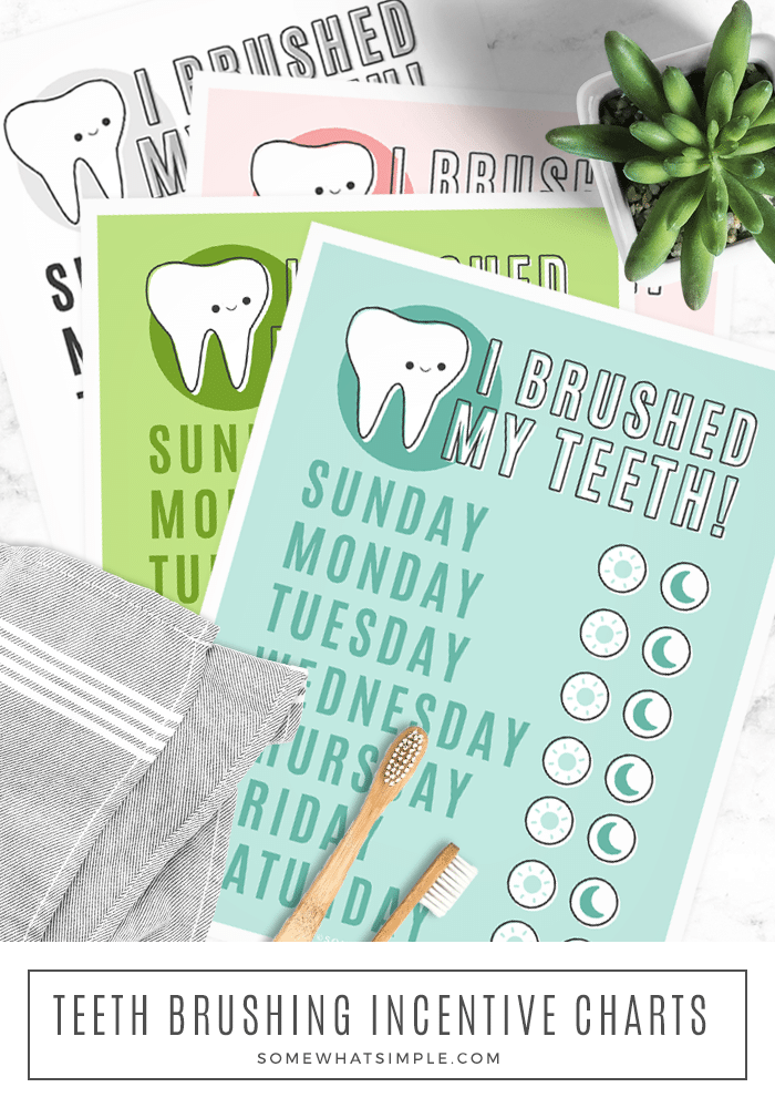 Photo of Tooth Brushing Incentive Chart Free Printable