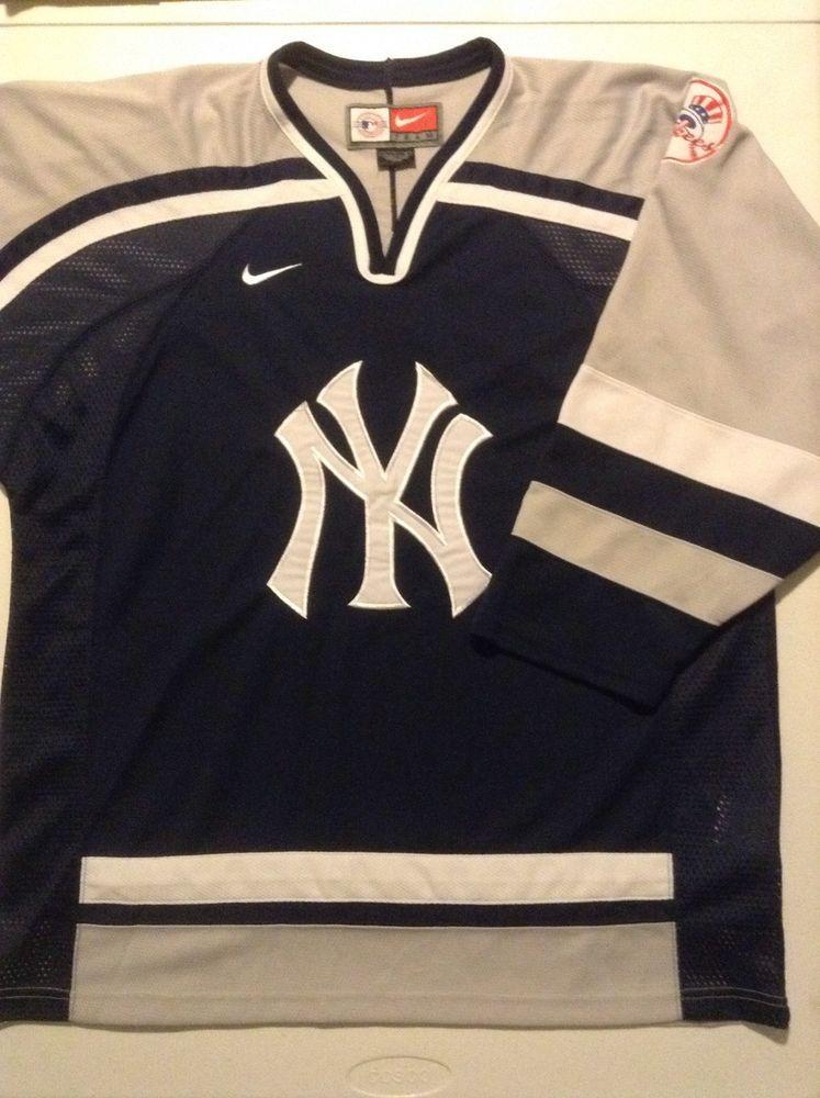 buy popular 794c2 56d01 new york yankees hockey jersey