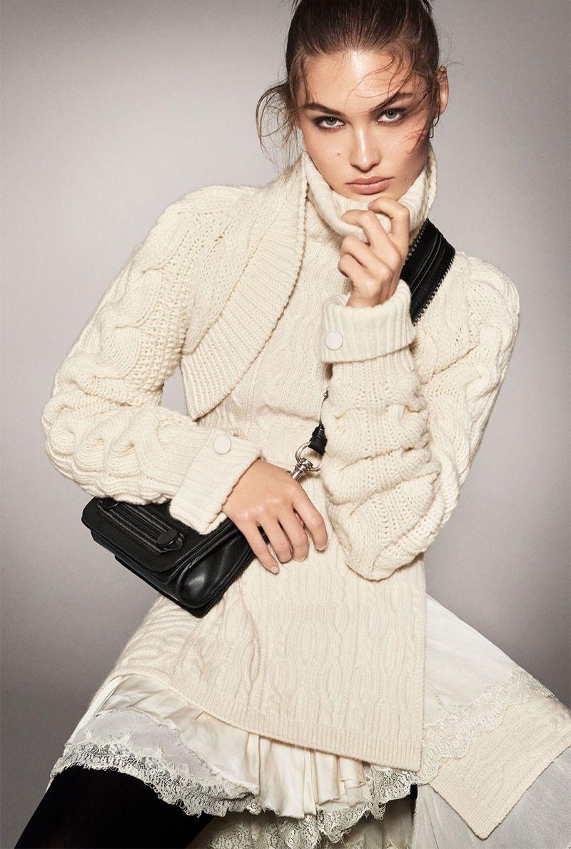 Zara Showcases Chic Outerwear In Fall 2017 Campaign Editorial