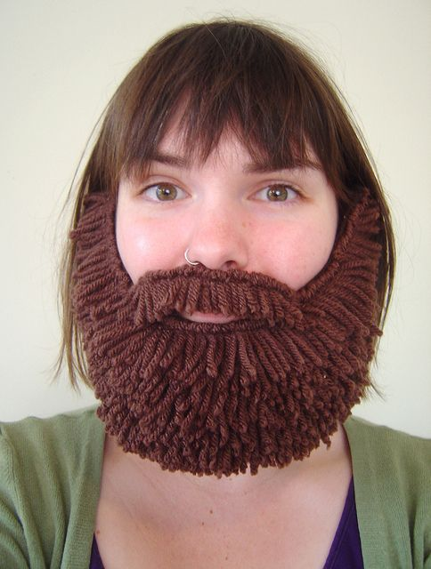 Brown beardawesome! What a good idea This would be great for - halloween costumes with beards ideas