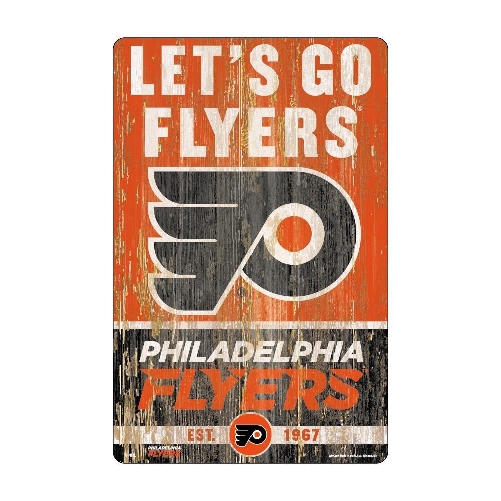 new concept e2eb7 28f60 Philadelphia Flyers Sign 11x17 Wood Slogan Design~ backorder ...