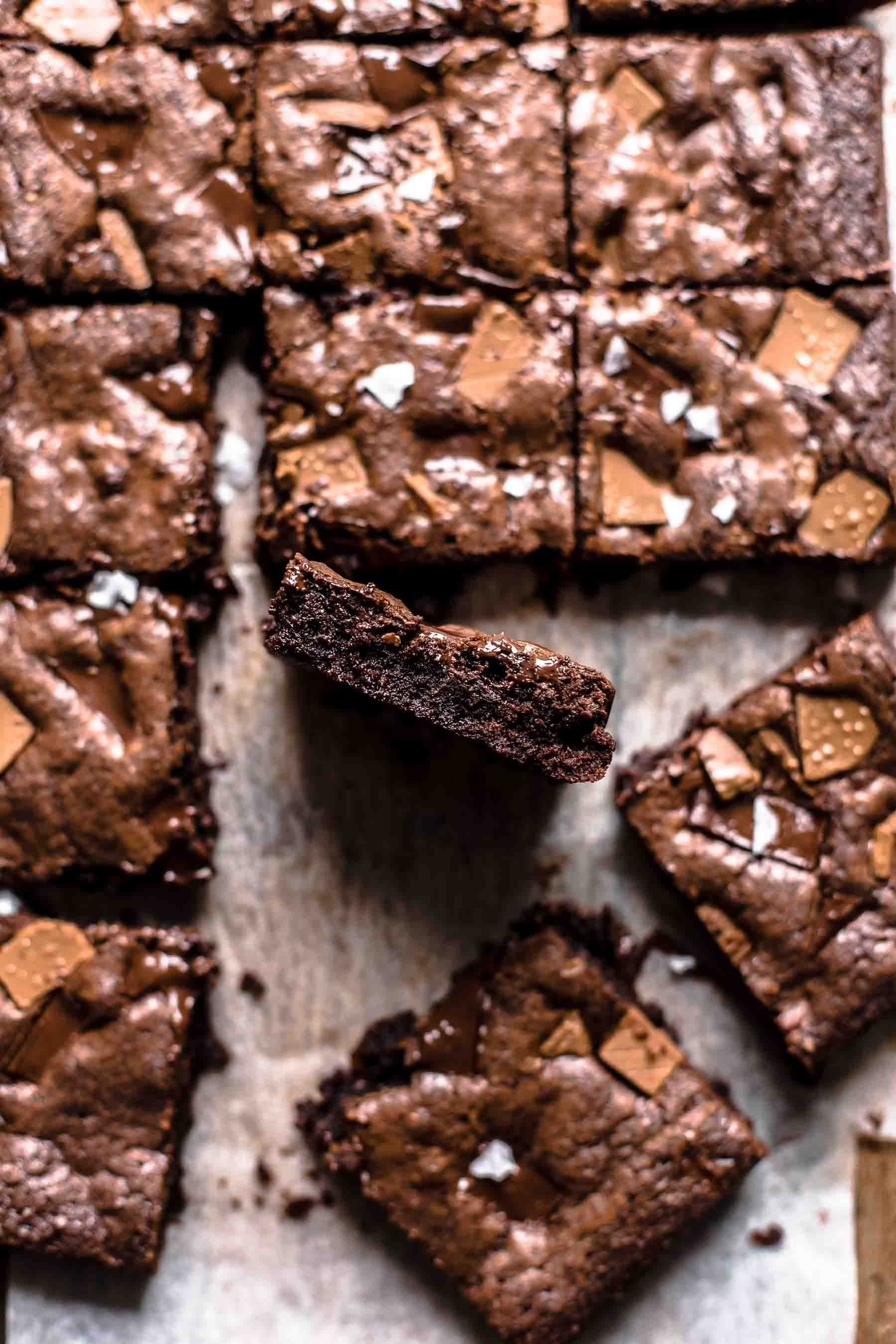 Easy And Best Chocolate Fudge Brownies Also The Crumbs Please
