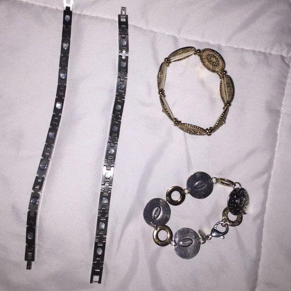 bracelet bundle ((includes 4)) includes four ((perfect condition)) bracelets Jewelry Bracelets