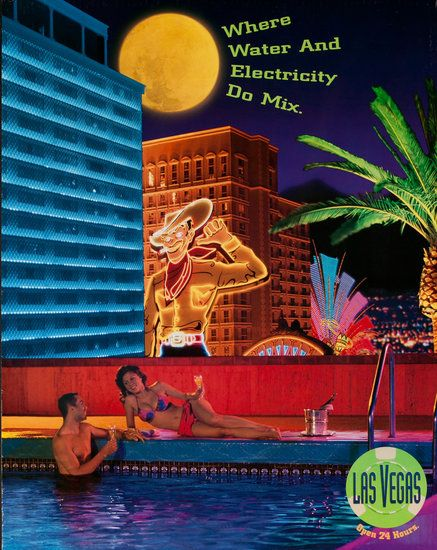 Las Vegas Open 24 Hours, »Where Water and Electricity Do Mix 1990s